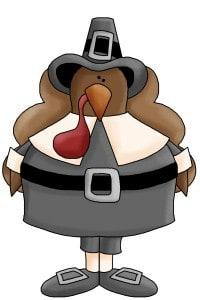 Happy Thanksgiving From Pilgrim Tom and Kaye Swain Roseville CA Joys 2014