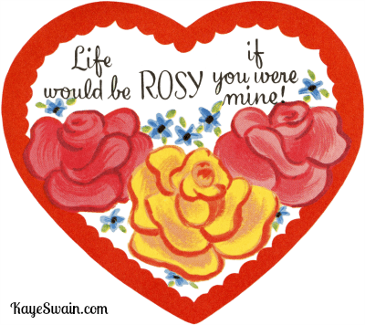 a rosy valentine from roseville ca real estate agent kaye swain