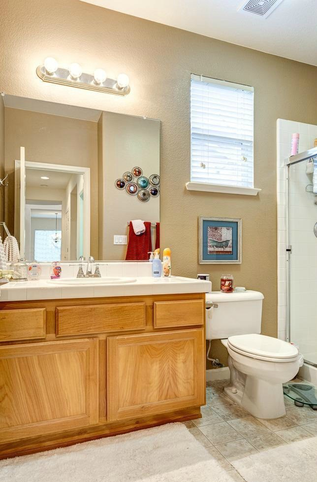 A great bathroom for a multigenerational family with elderly seniors for aging in place in West Roseville CA-via Kaye Swain