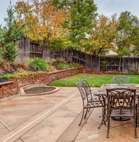 This West Roseville CA Home Has Lovely Mature Landscaping In The Back Yard To Relax