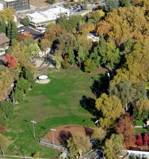 Google shot of Royer Park In Roseville CA via Kaye Swain REALTOR