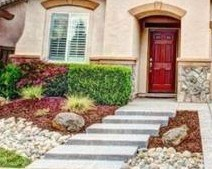 love these low maintenance landscape ideas and small gardens for the front beds at 1845 Terracina Circle Roseville CA 95747 MLS 15048506 via Kaye Swain REALTOR
