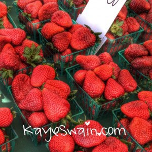 Berries everywhere-including the delightful strawberry - at the Berry festival 2015 at the Placer County Fairgrounds in Roseville CA via Kaye Swain REALTOR