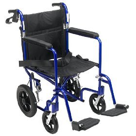 Lightweight-Medline-Transport-Travel-Wheelchairs are part of the aging in place set of tools via Kaye Swain real estate agent in Roseville CA