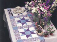 Lovely quilt patterns for placemats book via Kaye Swain Roseville CA 300