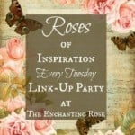 Kaye Swain Roseville CA Pet Friendly REALTOR and caregiver loves to visit a home decorating blog or other linky party like Roses of Inspiration at The Enchanting Rose