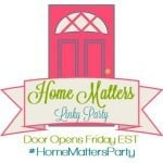 Kaye Swain Roseville CA REALTOR loves to visit a good blog party like Home Matters Party