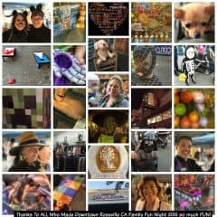 Downtown Roseville CA Family Fun Night 2015 Recap via Kaye Swain Roseville California Joys