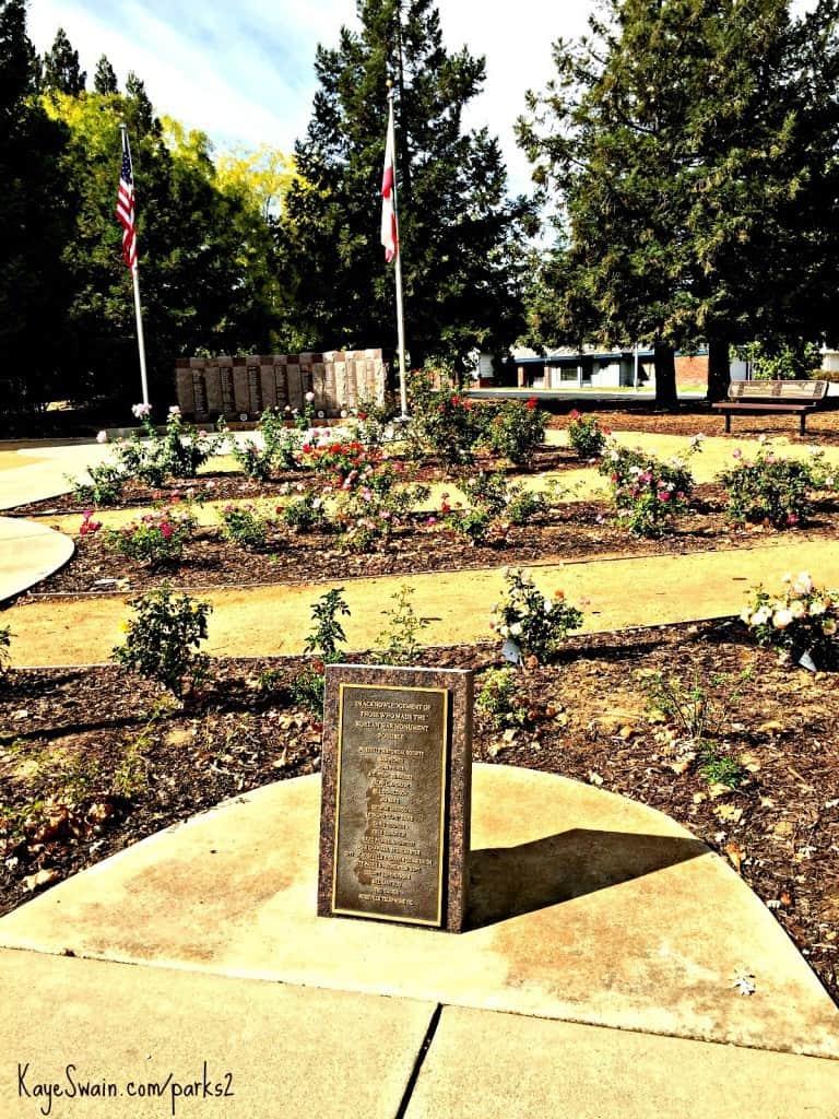 Kaye Swain REALTOR shares Roseville CA Maidu Park memorial garden