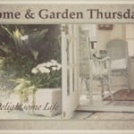 Kaye Swain Roseville CA Caregiver and real estate agent and blogger visiting at Home and Garden Thursday at A Delightsome Life blog on Wednesday