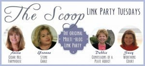 Kaye Swain Roseville CA real estate agent blogger visits the Scoop at Cedarhill Farmhouse on Monday nights