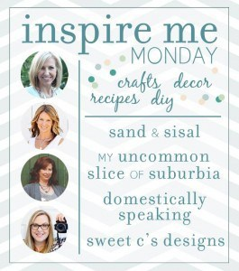 Kaye Swain real estate agent blog Roseville CA visits My Uncommon Slice of Suburbia for Inspire Me Mondays