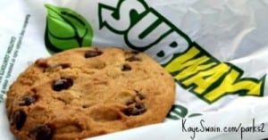 Subway on Sierra College Blvd has great food via Roseville CA real estate agent blogger Kaye Swain