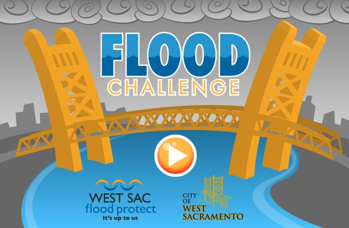 Kaye Swain Roseville CA real estate agent shares West Sacramento Flood Protect Challenge game for kids and grandkids