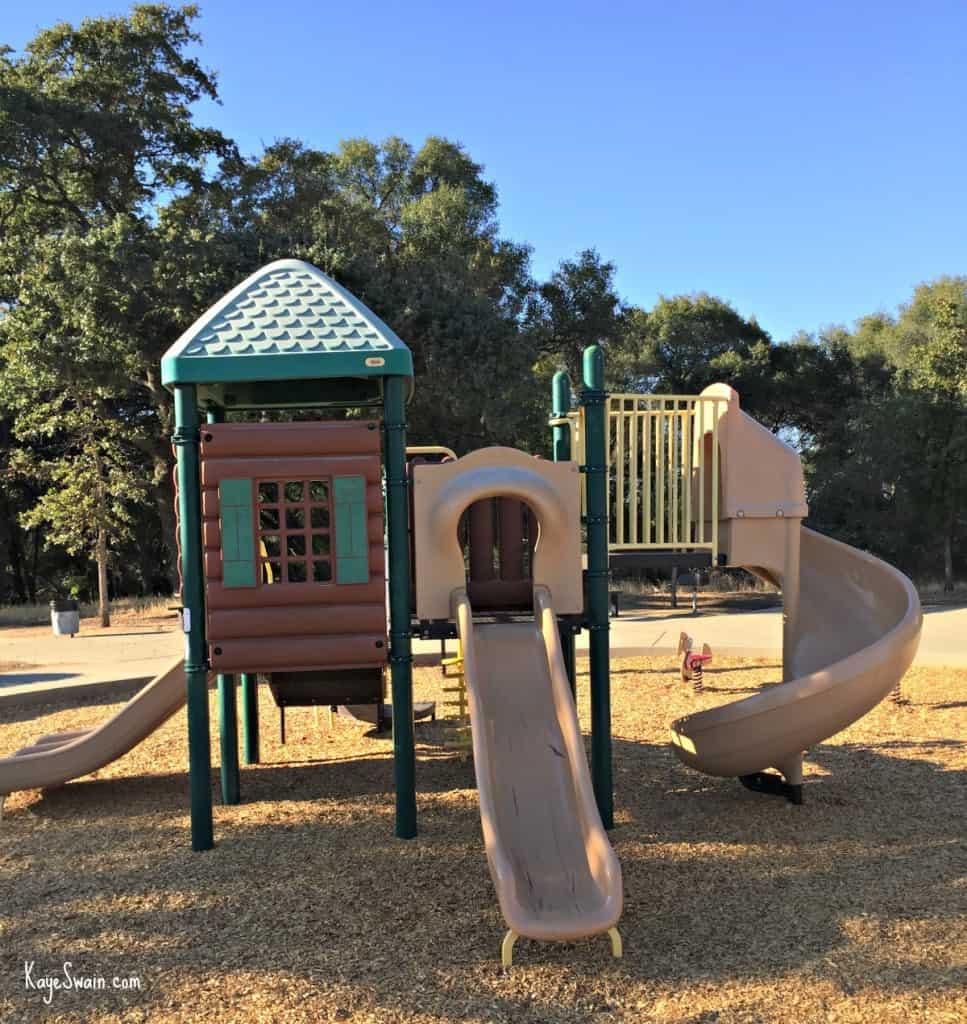 Kaye Swain blogger REALTOR sharing Roseville CA Veterans Memorial Park Parks little kids playground sig