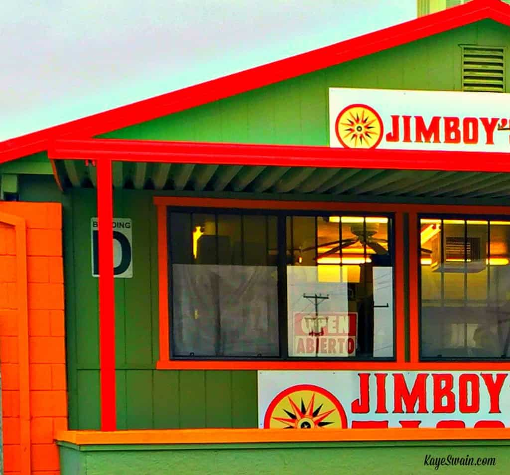 Roseville CA real estate agent Kaye Swain sharing Jimboys across from Denios Swap Meet and Farmers Market