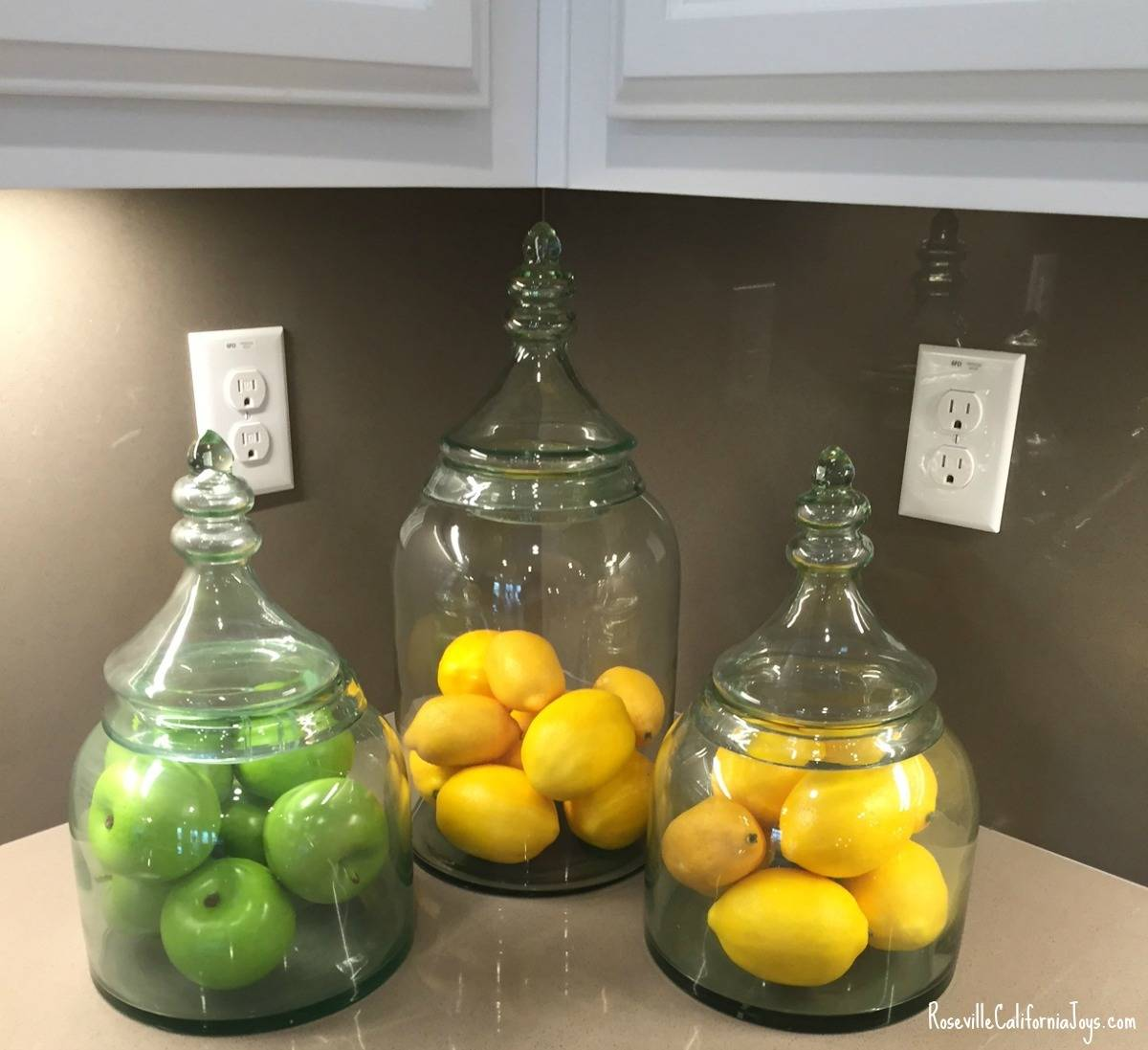 kaye swain roseville sacramento real estate agent blogger shares home decor fruit tip