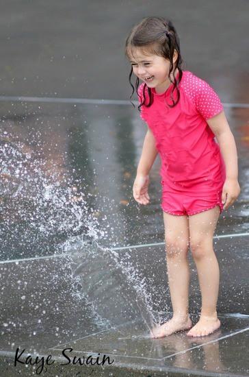 Kaye Swain Roseville CA REALTOR blogger shares sprayground kids fun