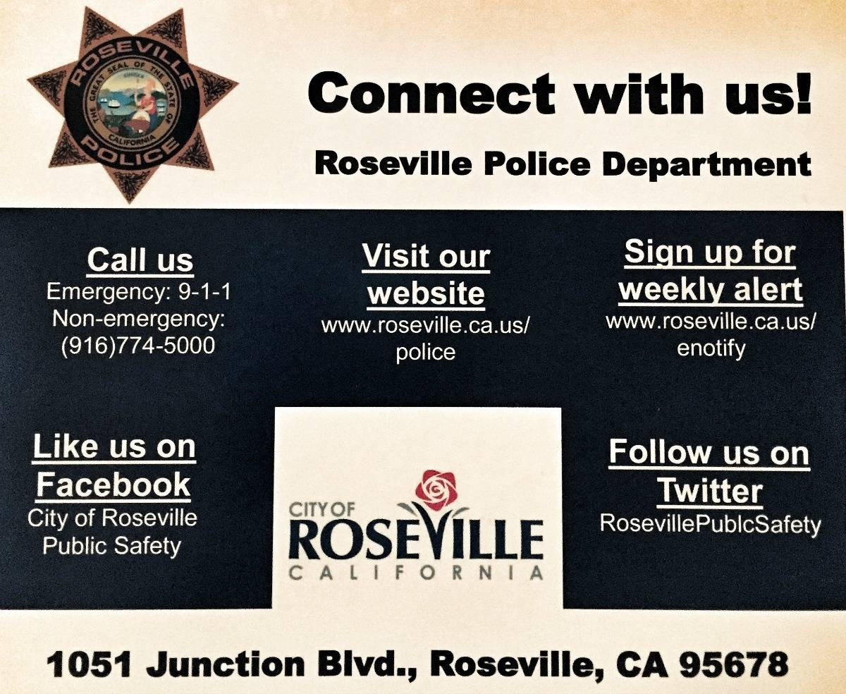Roseville CA REALTOR Kaye Swain shares police department connection tips