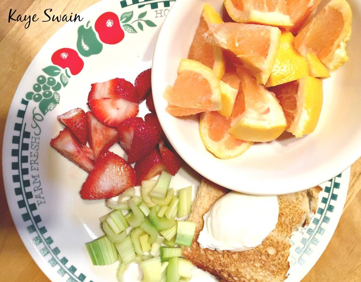 Kaye Swain Roseville real estate agent shares healthy eating breakfast food choices