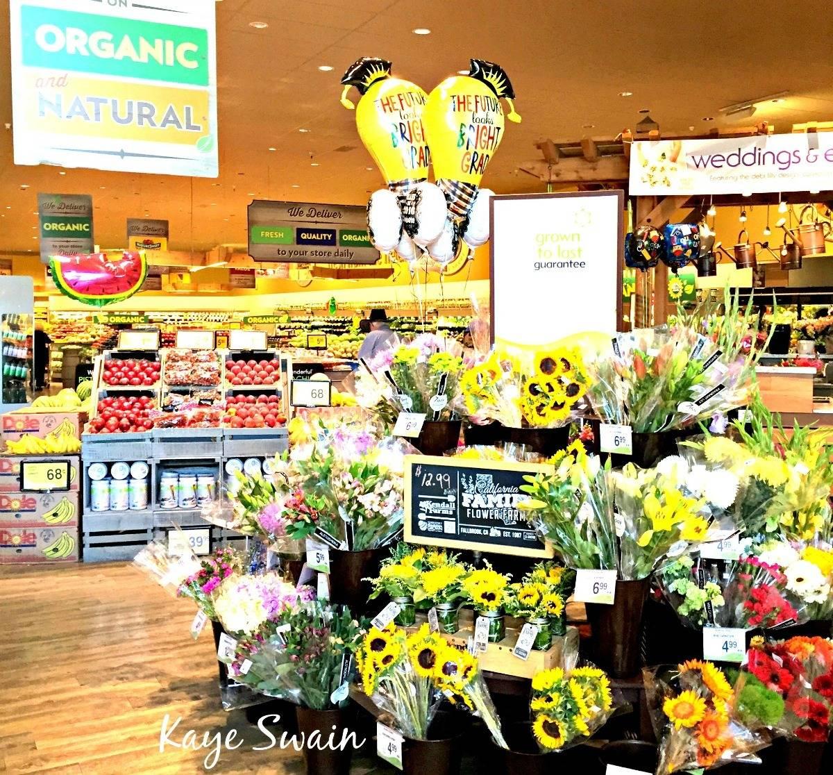 Roseville real estate agent Kaye Swain shares Safeway Woodcreek Oaks organic vegetables