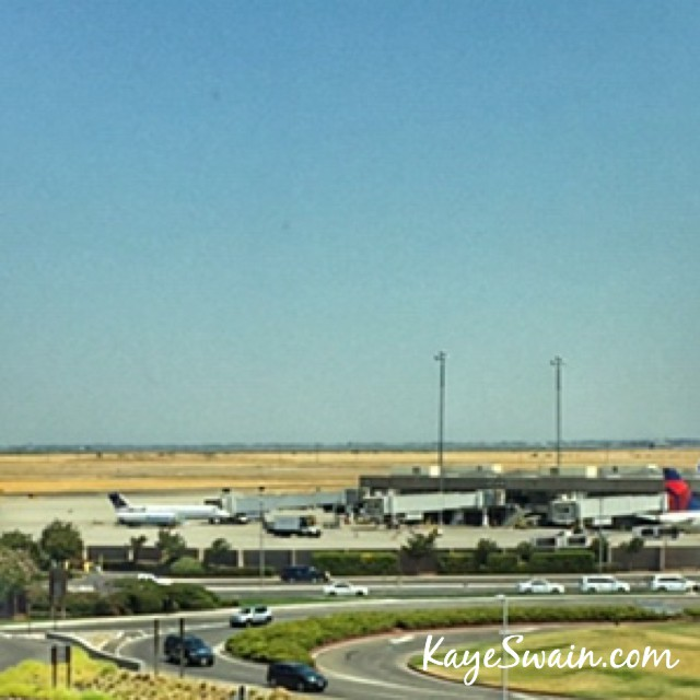 Sacramento International Airport near Roseville CA