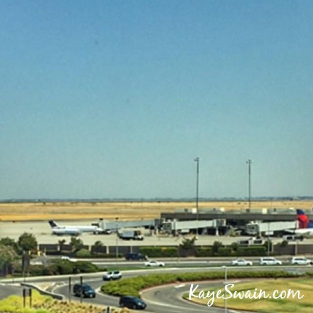 Sacramento International Airport near Roseville CA