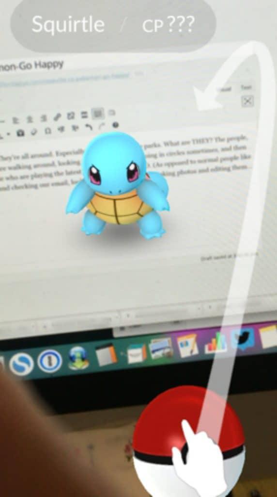 Kaye Swain Roseville Real Estate Agent Squirtle Pokemon Go