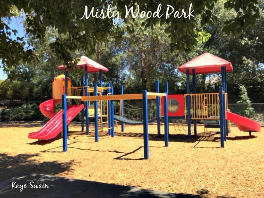 Kaye Swain Roseville Real Estate Agent shares Misty Wood Park playground Roseville Parks