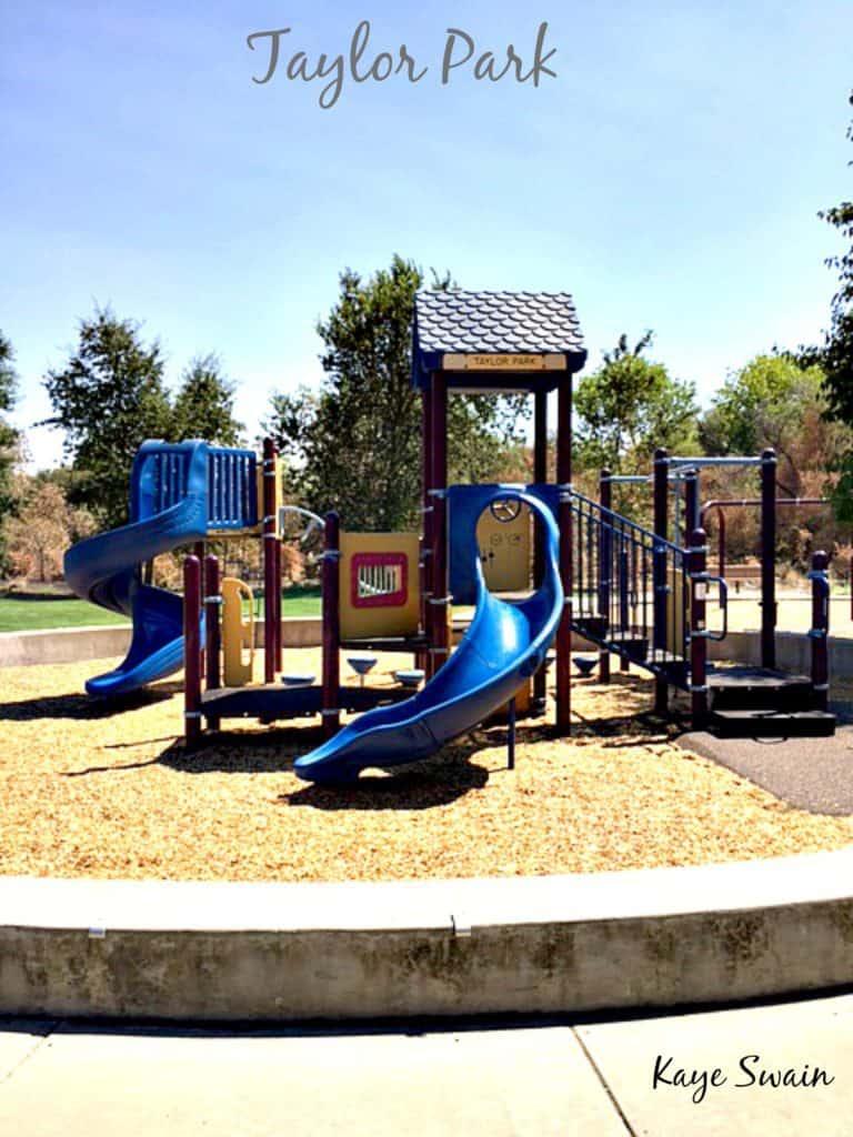 Kaye Swain Roseville Real Estate Agent shares Taylor Park Playground Roseville Parks