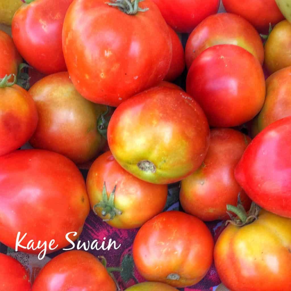 Farmers Market Tomatoes Kaye Swain Roseville Real Estate Agent