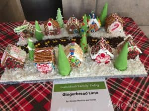 Gingerbread Lane Ainsley Mochrie family Roseville downtown Holiday Celebration via Kaye Swain 2016