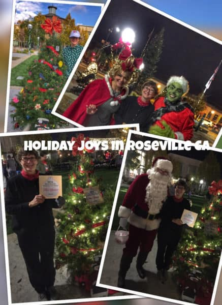 Kaye Swain Roseville Real Estate Agent sharing Christmas Tree Grove Joys