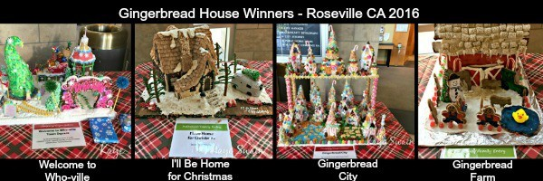 Kaye Swain Roseville Real Estate Agent sharing Roseville Gingerbread House 2016 winners