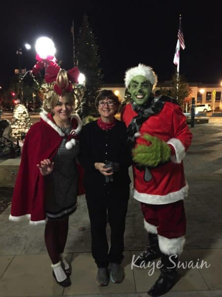 Kaye Swain Roseville Real Estate Agent sharing Cindy Lou The Grinch Christmas Joys