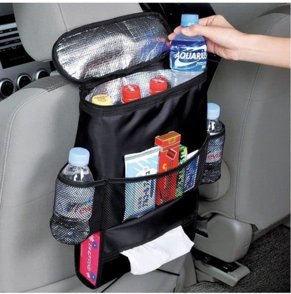 Awesome drink cooler for organizing water bottle for real estate clients Roseville home tour.jpg