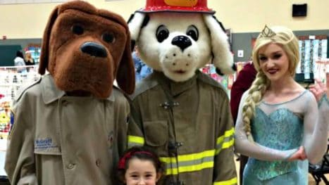 McGruff Sparky Elsa adorable via Kaye Swain Roseville Real Estate Agent
