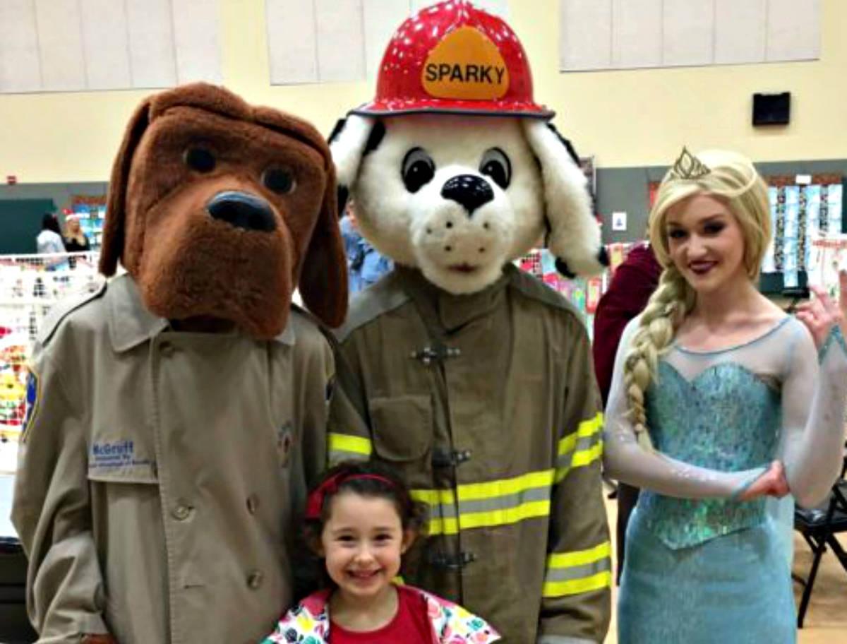 McGruff Sparky Elsa adorable via Kaye Swain Roseville Real Estate Agent