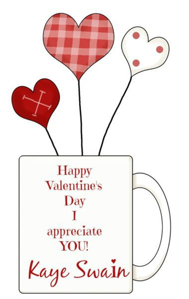 Happy Valentines Day Appreciate you Kaye Swain Roseville Real Estate Agent