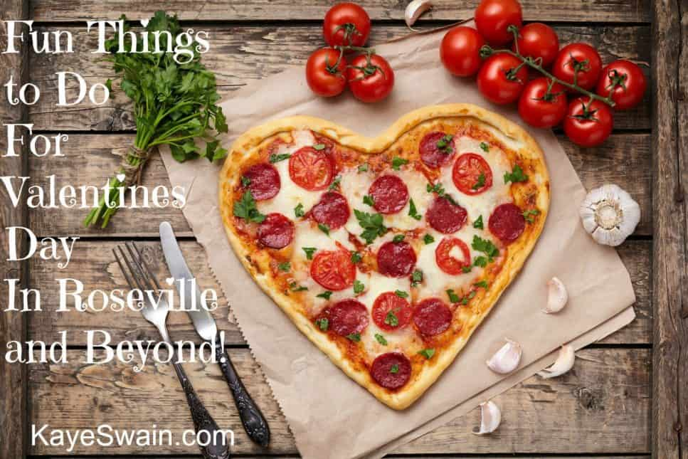 Kaye Swain Roseville Real Estate Agent sharing heart shaped pizzas for Valentines Day on and off Pinterest