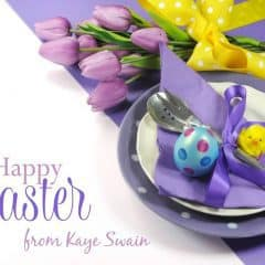 Kaye Swain says Happy Easter 2017 Roseville California