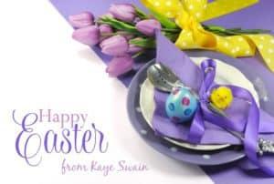 Kaye Swain says Happy Easter 2017 Roseville California