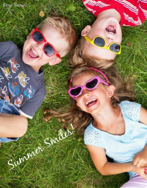 Summer Smiles Summer Camp 2017 Roseville beyond via Kaye Swain Real Estate Agent