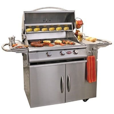 66 inch A-LA-Cart Plus 3 Burner Gas Grill bells whistles plus