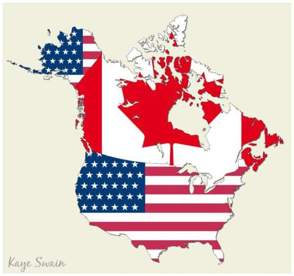 National Night Celebrations through United States Canada territories military bases