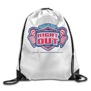 National Night Out backpack