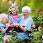 Roseville Real Estate Agent sharing senior grandparent grandkids