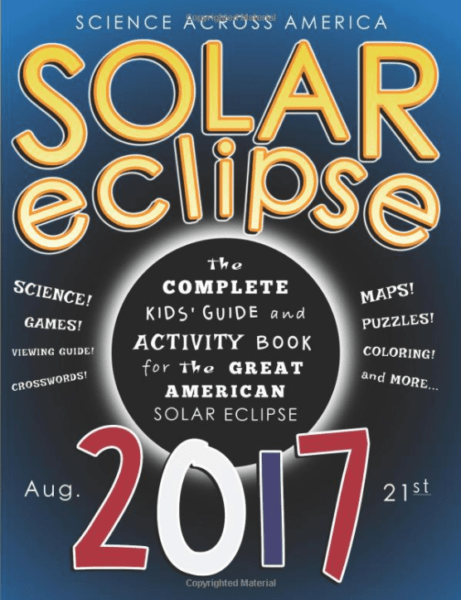 Kids Grandkids workbook Eclipse Solar 2017
