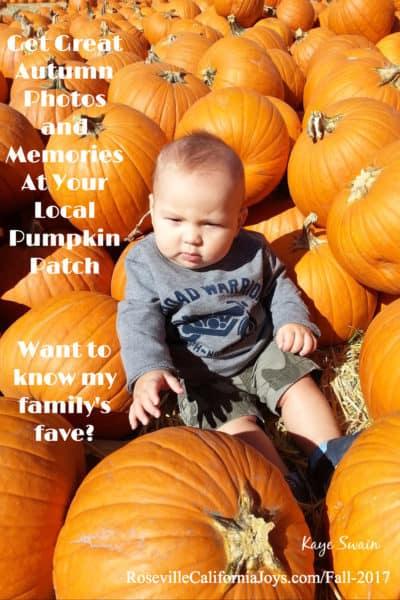 Get great autumn photos and memories Roseville California Joys Fall 2017 pint fx