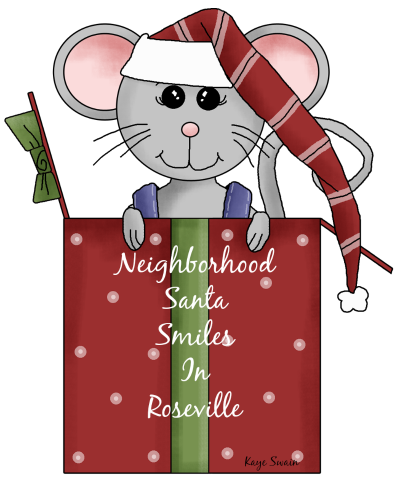 Neighborhood Santa Roseville CA via Kaye Swain blogger caregiver real estate agent
